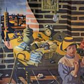Le trésor des Albigeois 1984 Hommage à Maurice Magre 119 x 89,5 Huile sur toile