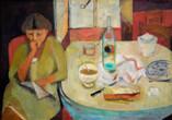Collection Paule Delepine Année 50? 115 x 79 Huile sur Toile