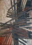 Abstrait. 1954 65 x 45,5 cm. Huile sur toile