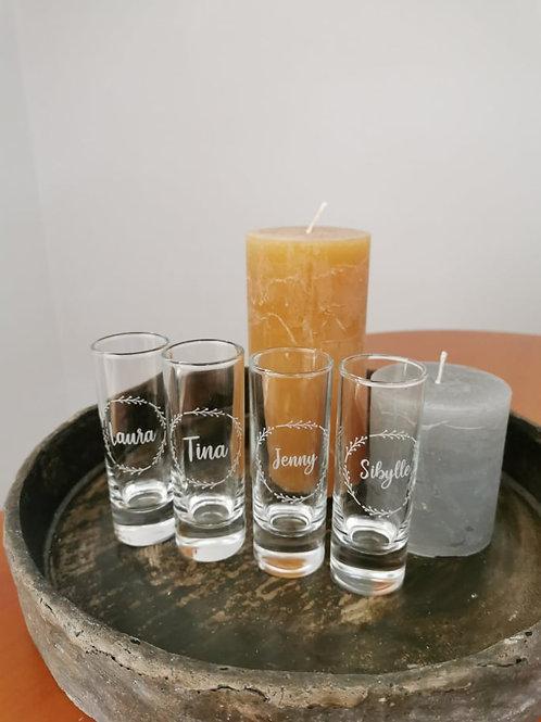 Personalisiertes Schnapsglas