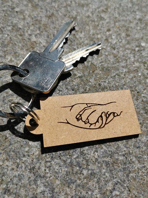 "Schlüsselanhänger ""Maximo"" aus Holz"