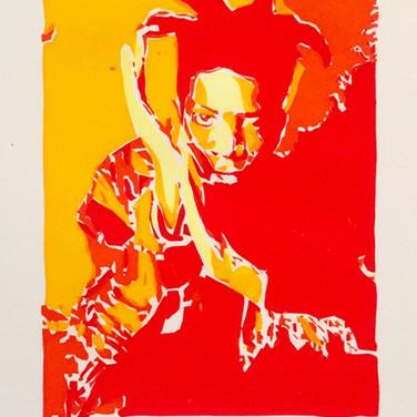Basquiat (4 colour)