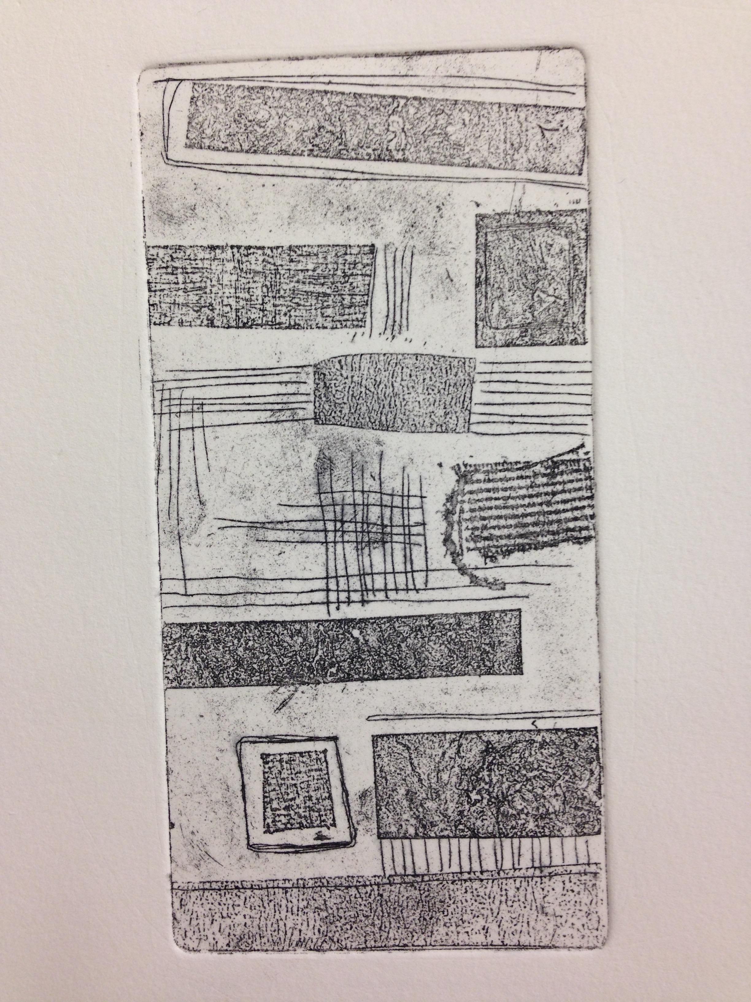 Textured soft ground etching