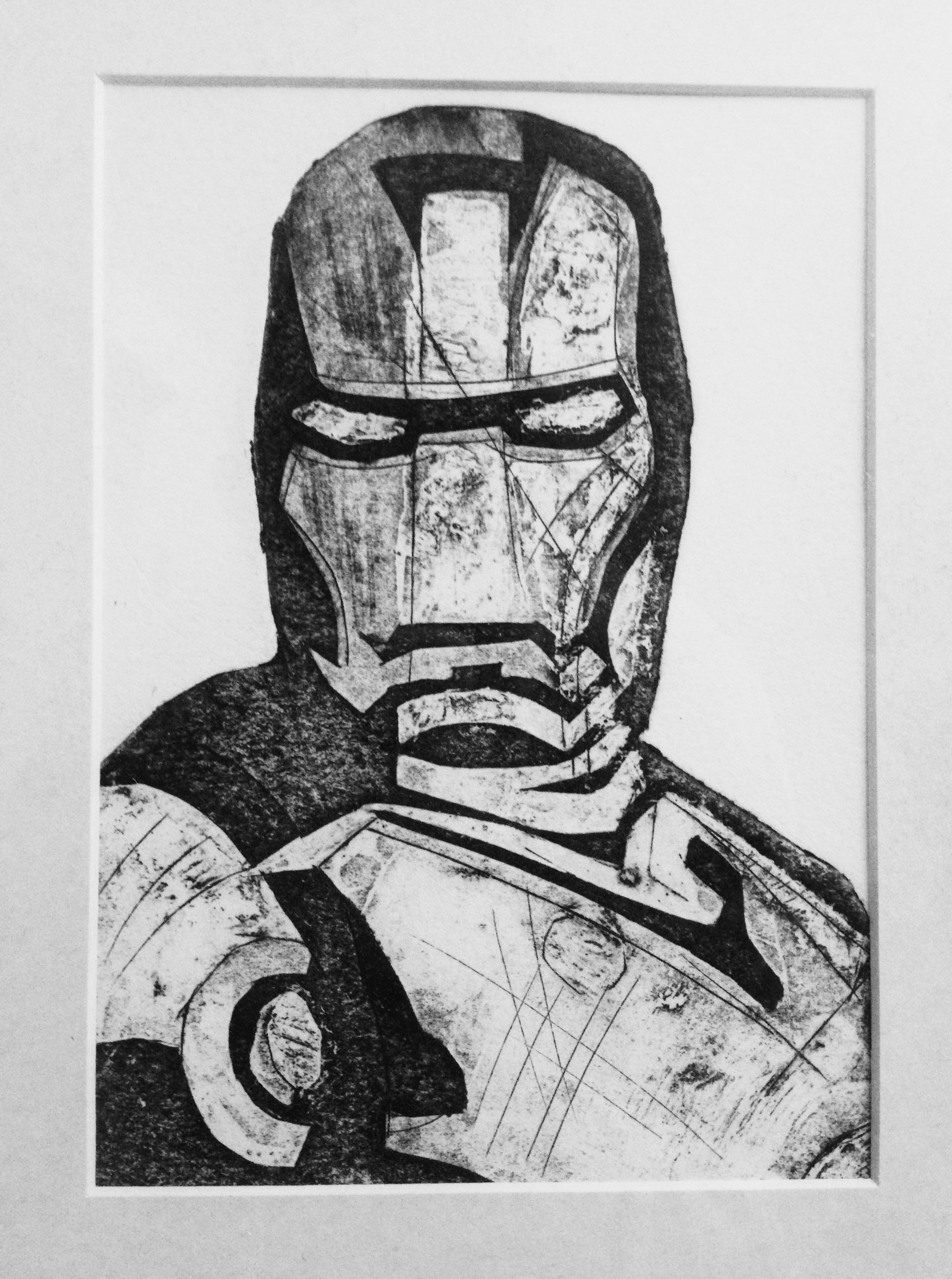 Iron Man, Collagraph. 2014