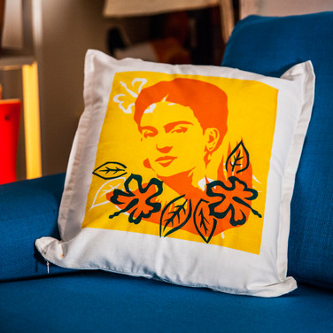 Frida Kahlo Cushion Cover (Commisson)