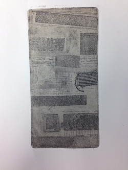 Textured soft ground etching
