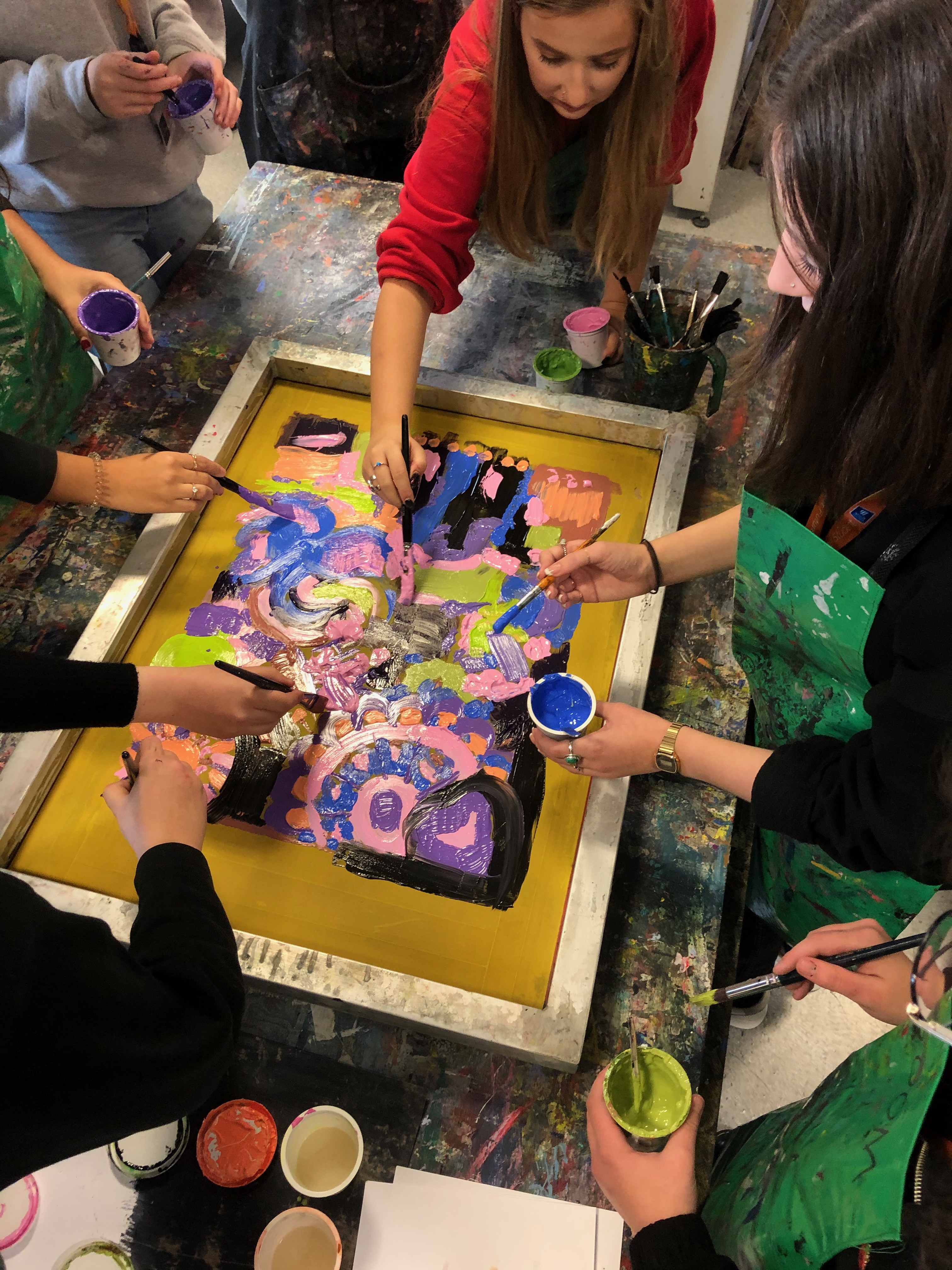 Collaborative Screen Printing