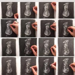 Drawing Workshop (Tone) Art Shape