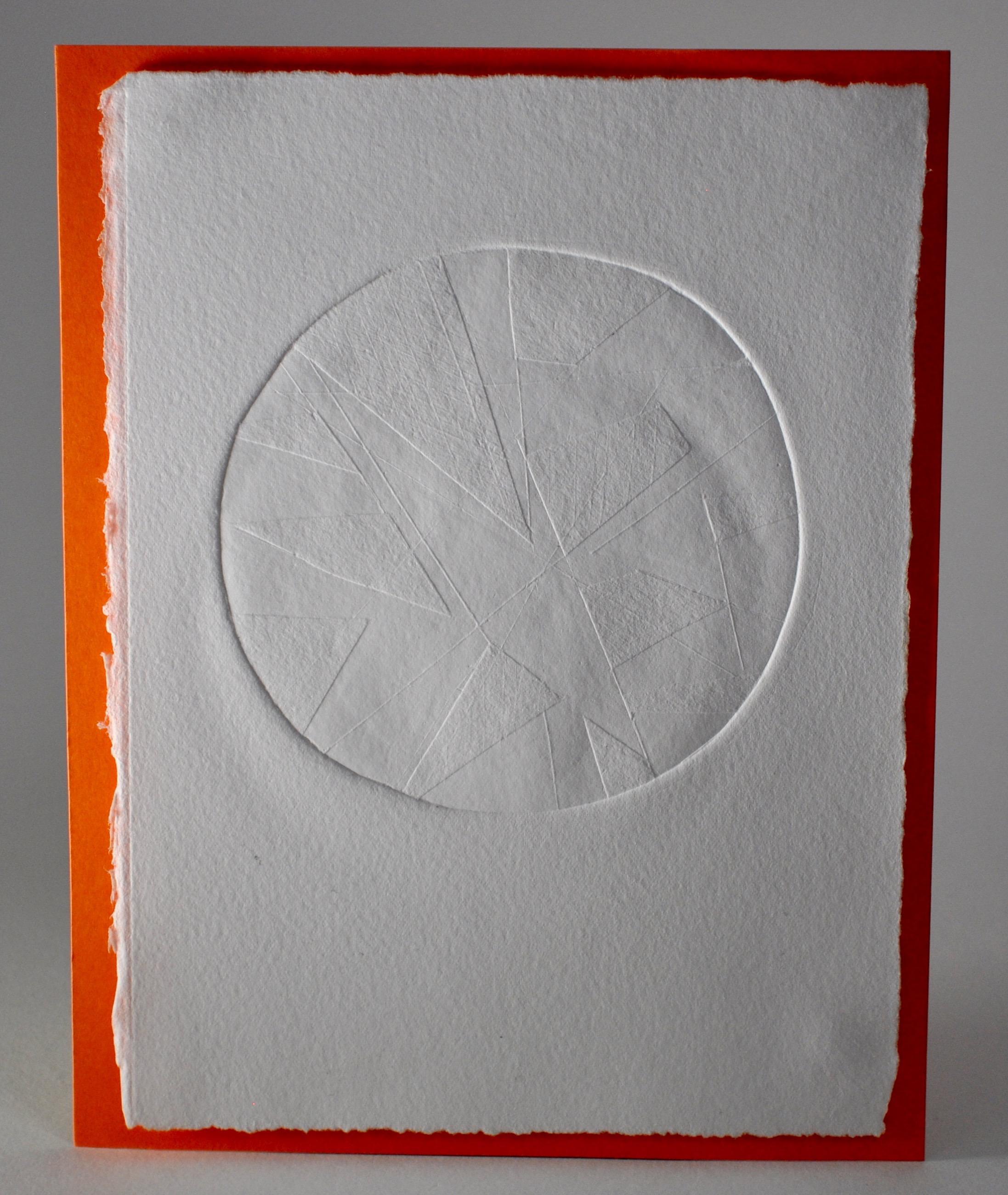 Geometric circles (embossed)