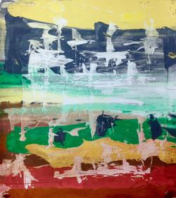 Abstract Monoprint