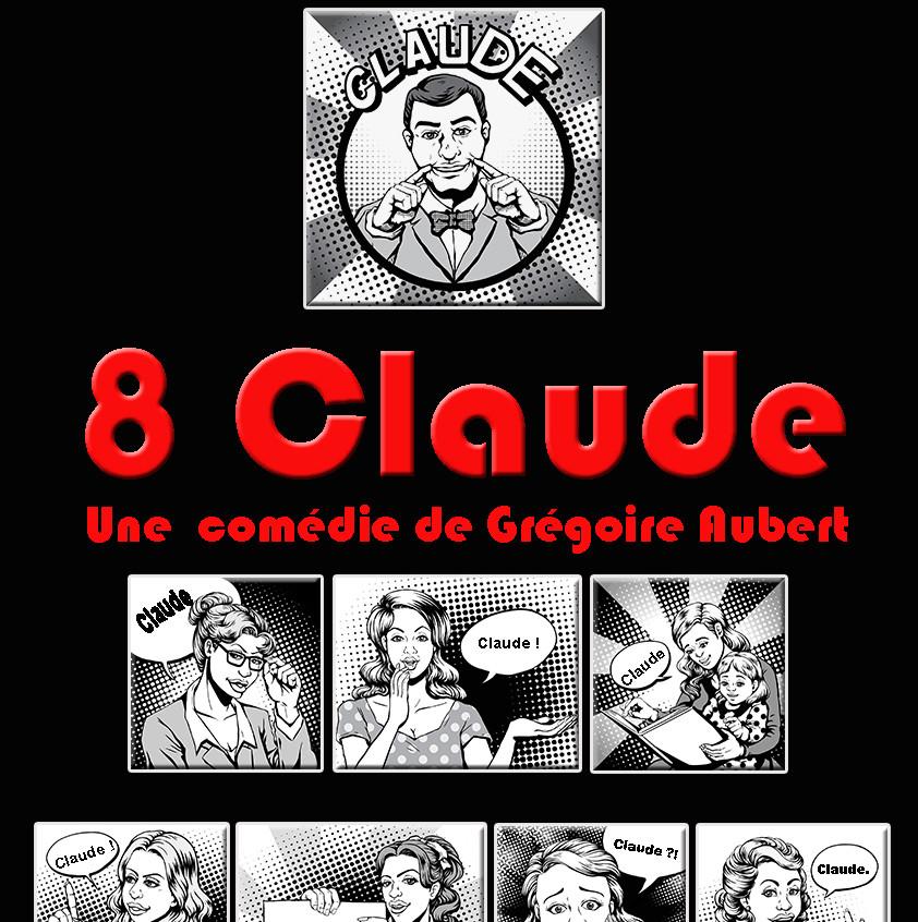 Affiche 8 claude