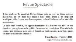 REVUE DU SPECTACLE FC P3