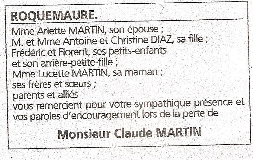 8 Claude - La mort de Claude Martin