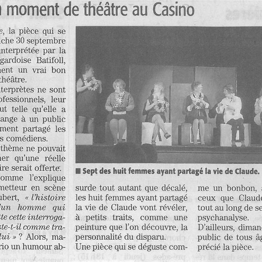 8 Claude - Midi Libre Gard du 4 octobre