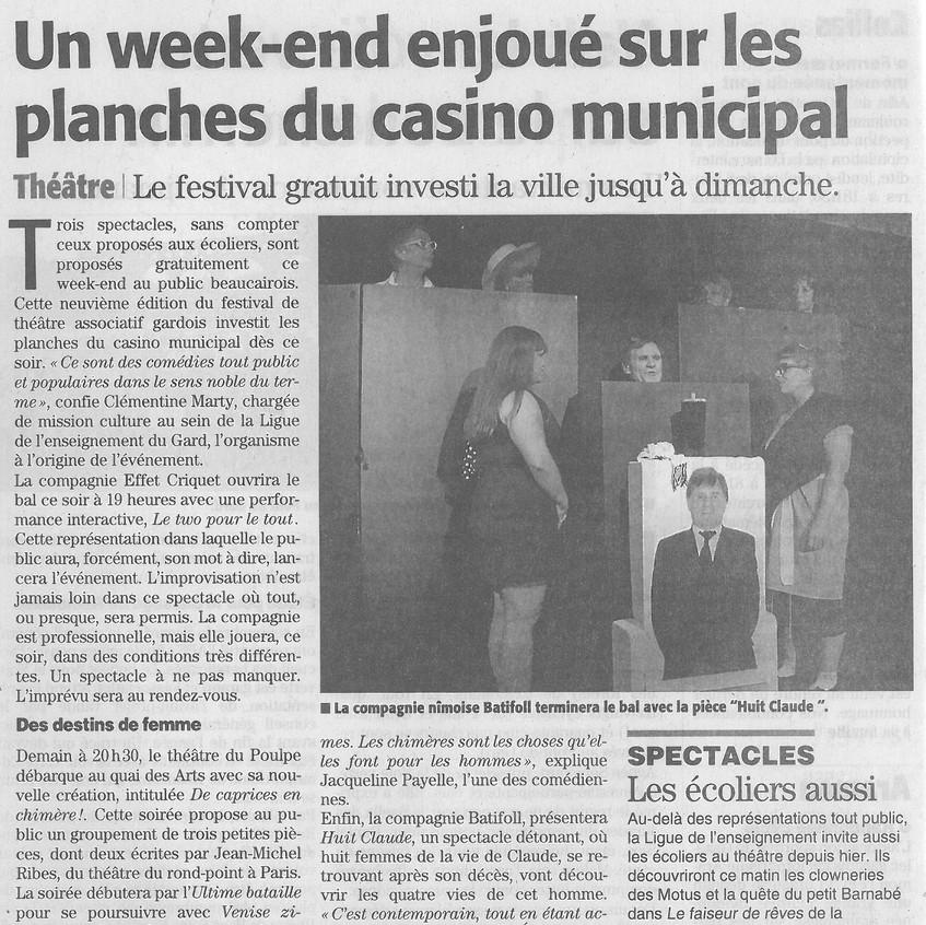 8 Claude - Midi Libre gard du 28.09