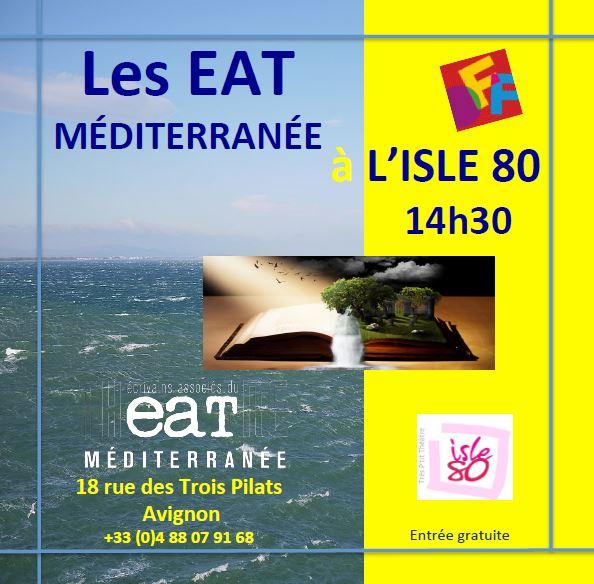 Visuel Lectures Isles 80 Avignon 2018