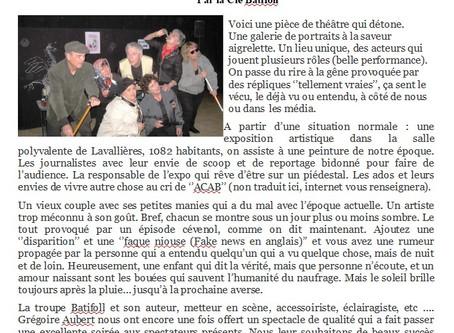 """Retour sur """"Salle des fêtes"""""""