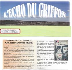 LDDB - Echo du Griffon 28.04.12