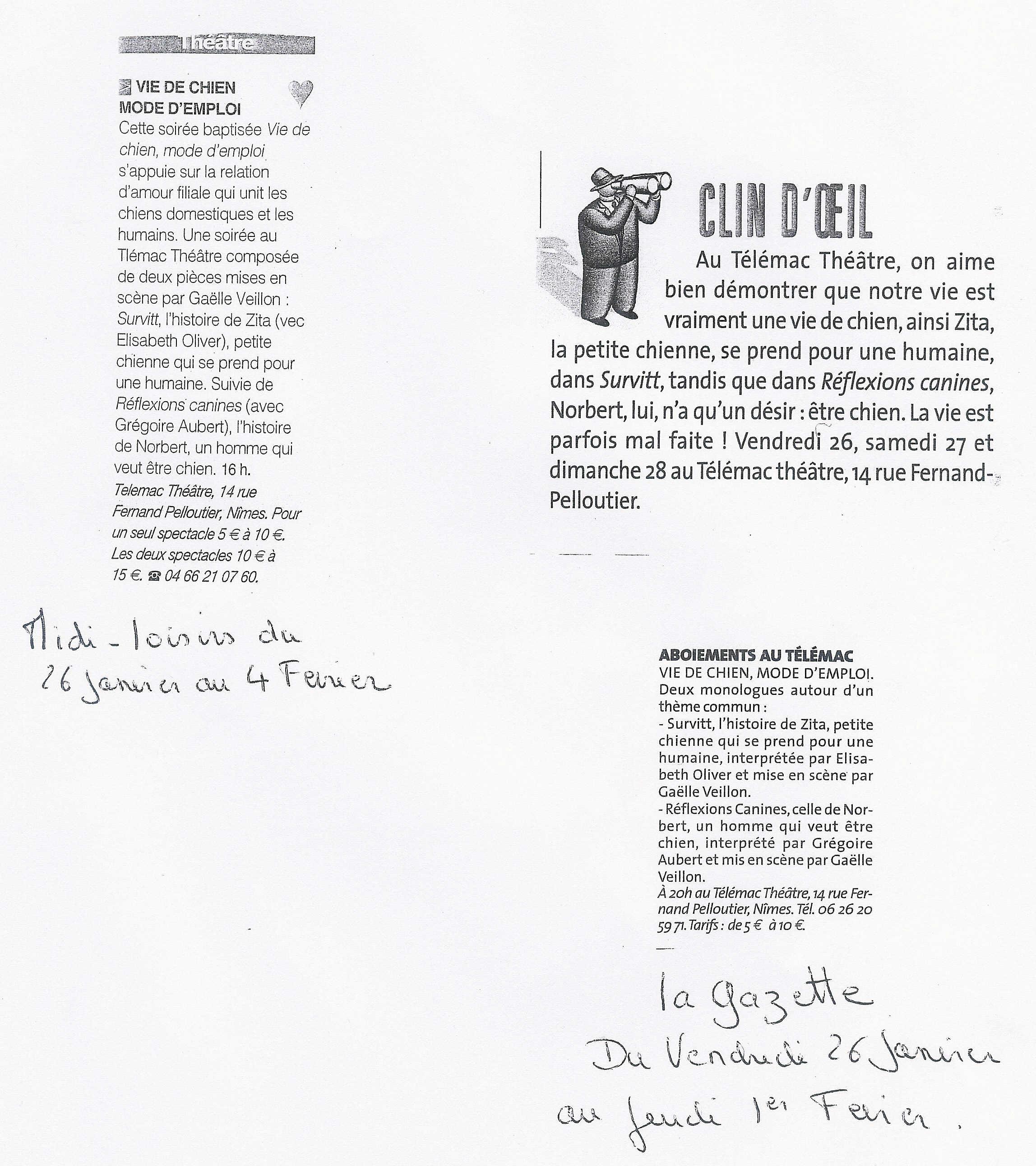 Gazette & Midi Loisirs