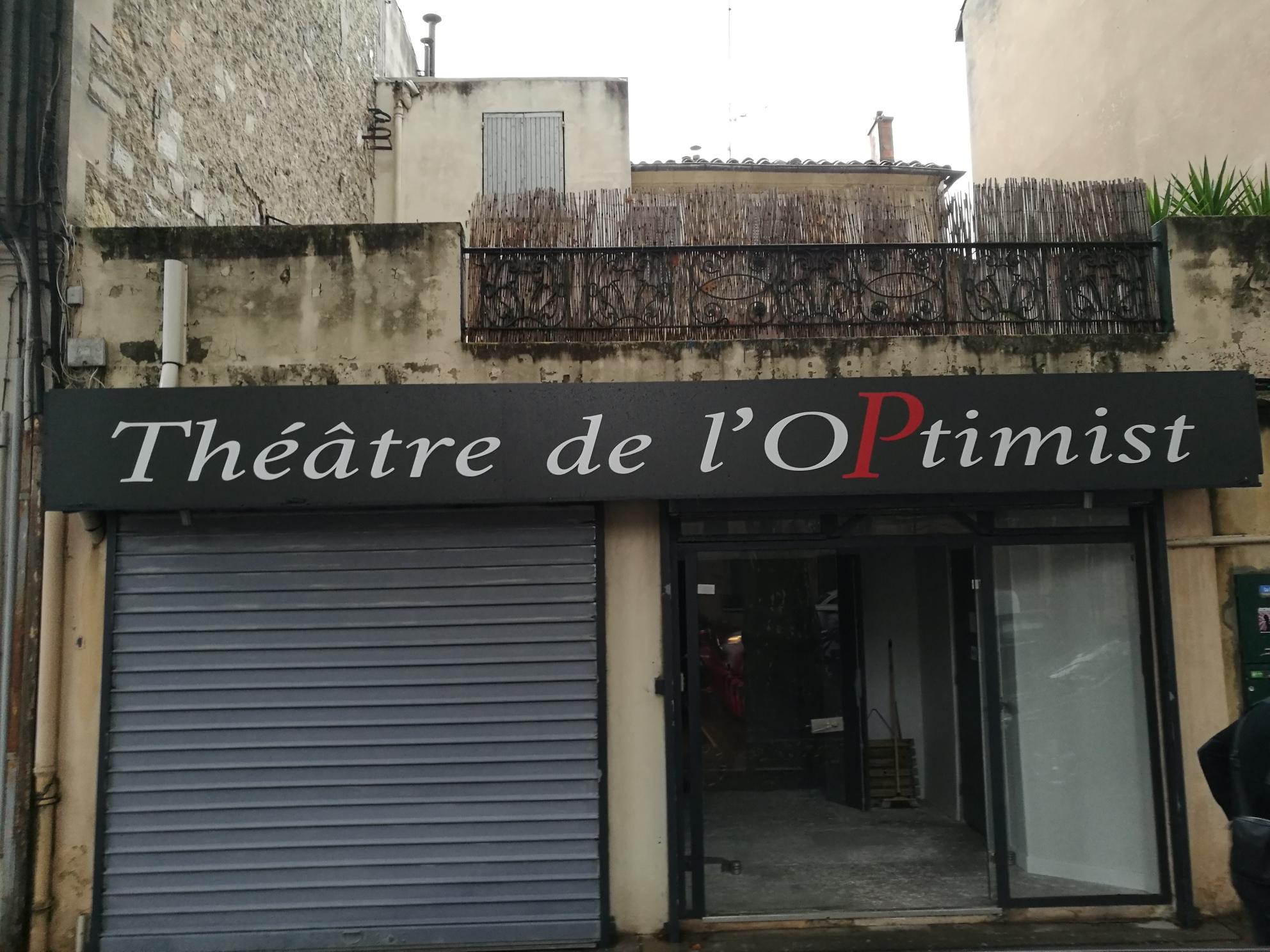 Vitrine - Théâtre de l'optimist