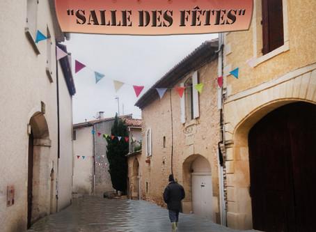 """""""Salle des fêtes"""" à la salle des fêtes… de Boissières (30)"""