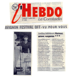 Hebdo Le Comtadin