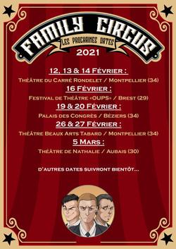 Dates Family Circus