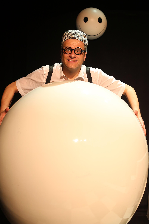 Le ballon Blanc Je peux toujours le regonfler