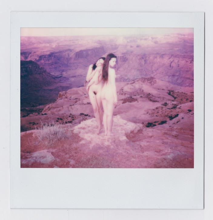 Polaroid 600 with @anoushanou @faemuirina | Utah | Aug 2019