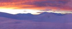 Main range sunset2