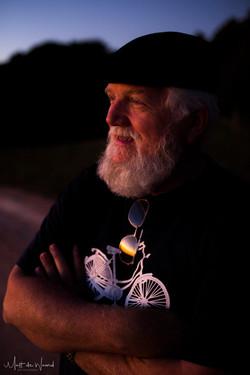 Dad sunset portrait