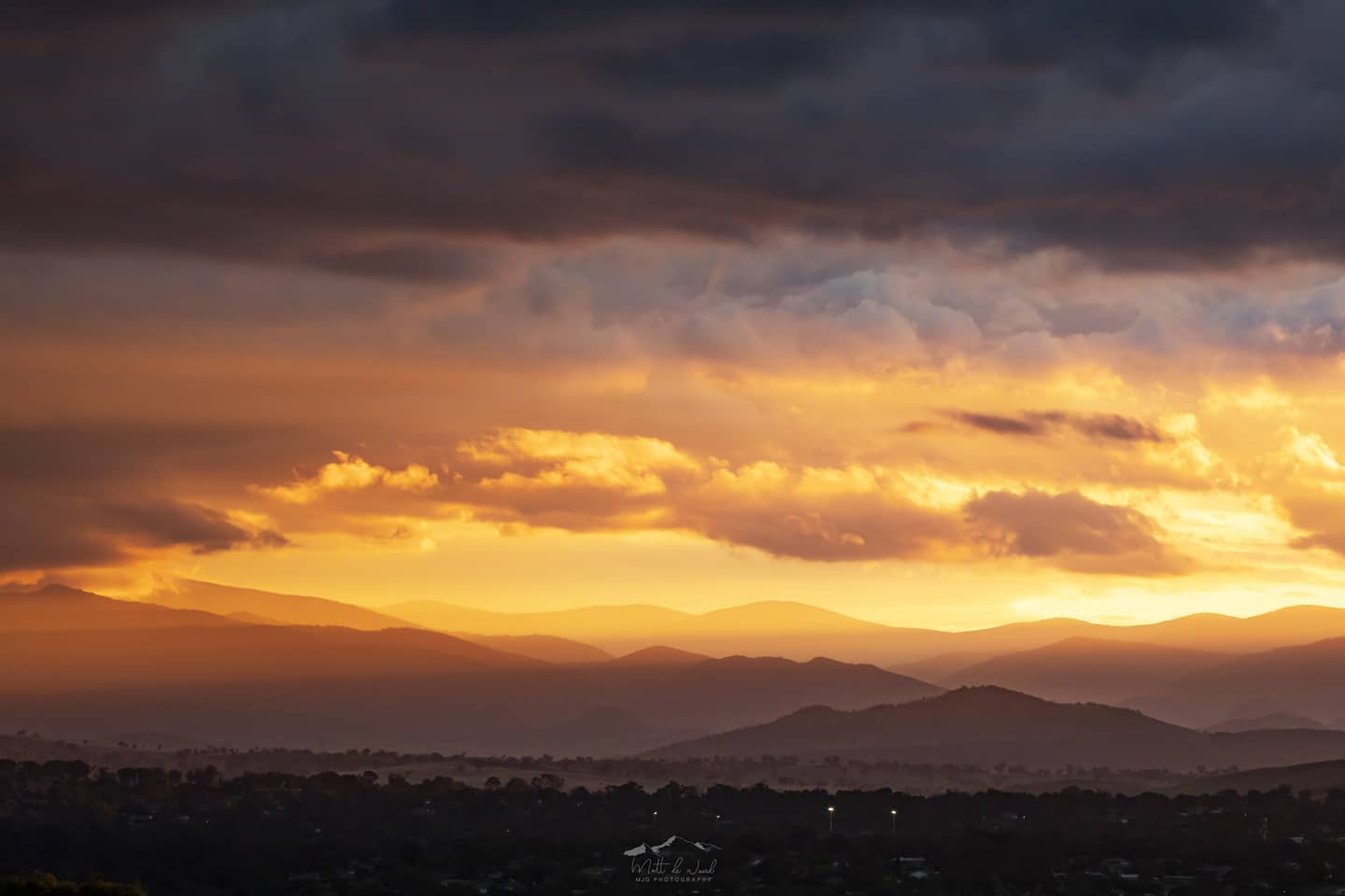 Brindabella Sunset