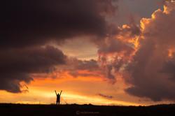 amazing sunset liz