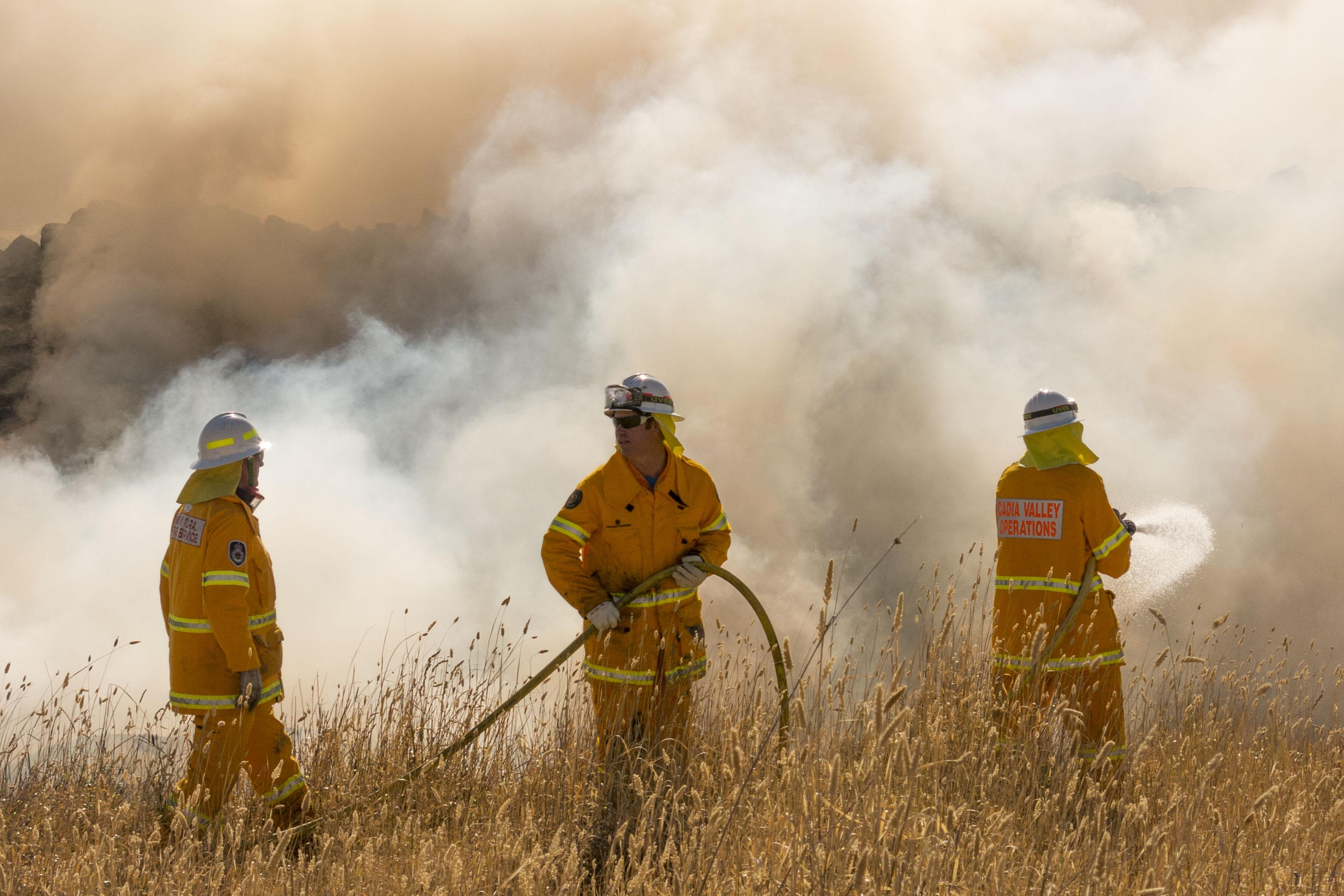 Burning Smoke