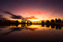 MJD Photos Lake Williams sunset