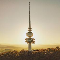 Telstra Tower Sunglow