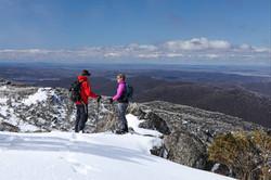 Snowy View Porcupine Rocks
