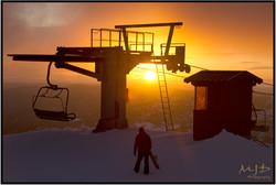 Mountain Ops sunrise