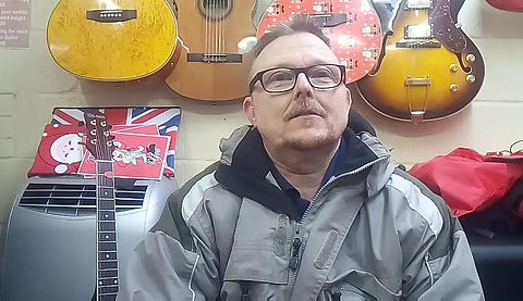 Megan's dad Gary talking about her weekly guitar lessons here in Maidstone.