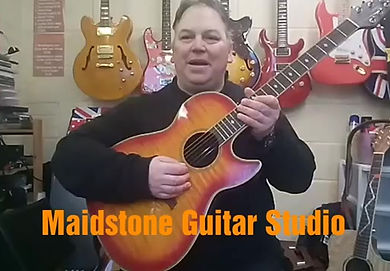 A video about why students should come and lessons on the guitar with me here in Maidstone.