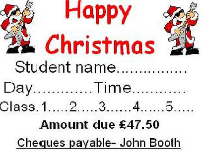 This is a christmas voucher that you can buy a loved one for their present.