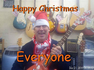 "Happy Christmas everyone from ""Maidstone Guitar Lessons""."