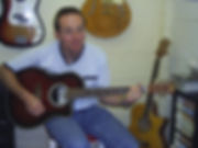 Steve is one of my oldest students and he really loves playing the acoustic guitar.