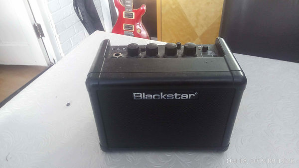 The Blackstar practice guitar amp.
