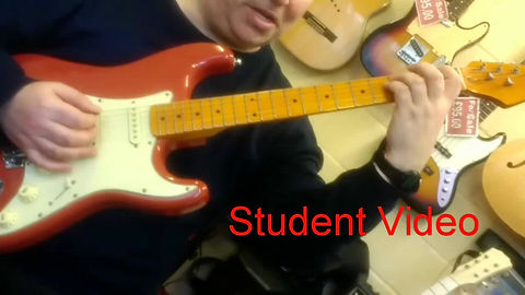 This video shows my students how to play another level one song.