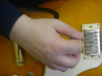 Holding the guitar plectrum correctly is really important when learning the guitar.