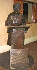 Barbara Jordan statue