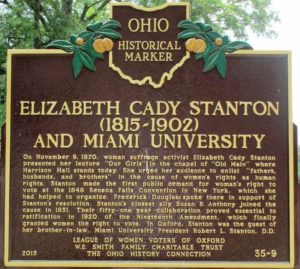 "Elizabeth Cady Stanton and ""Our Girls"""