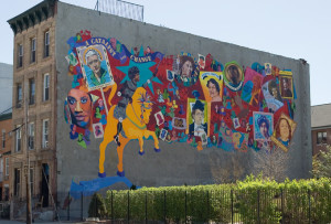 When Women Pursue Justice, a mural by Artmakers, Inc.