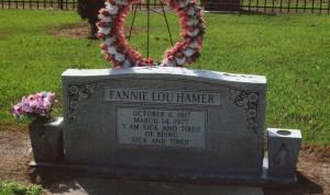 FannieLouHamerGrave